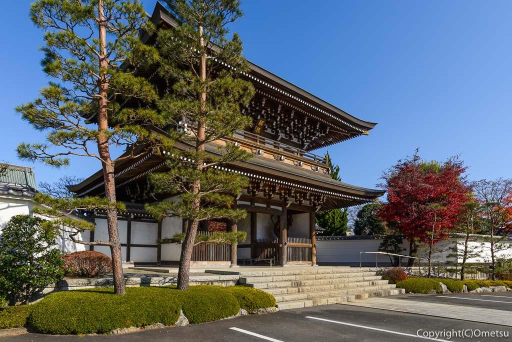 瑞穂町・円福寺の三門