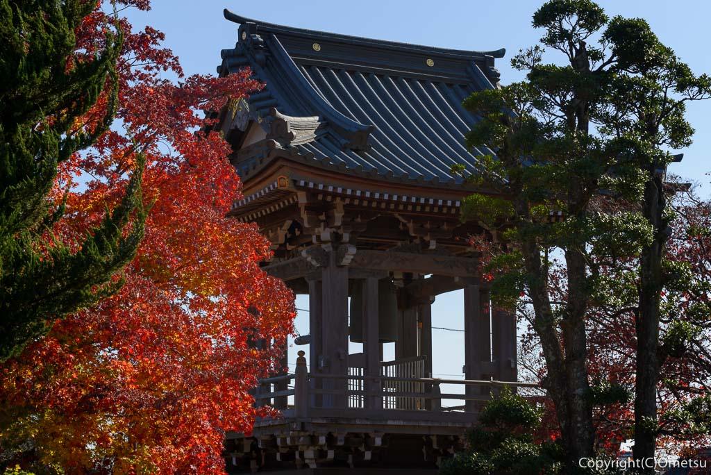 瑞穂町・円福寺の鐘撞き堂