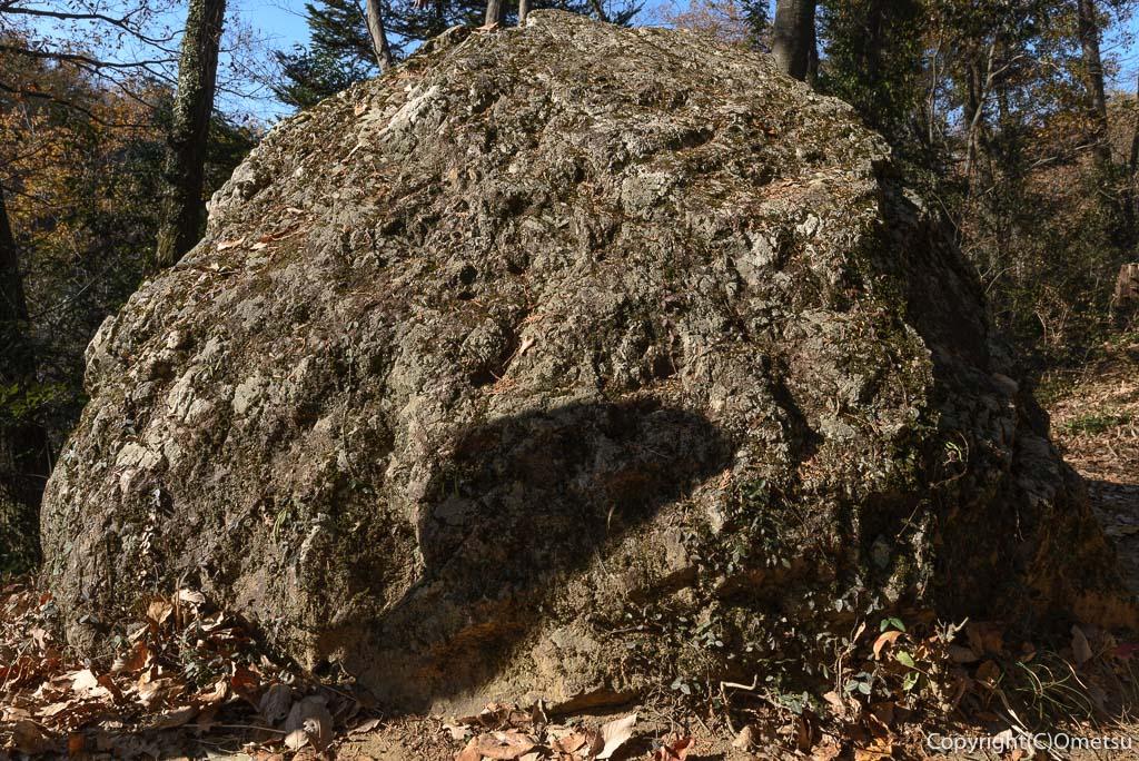 青梅の森の、おにぎり岩