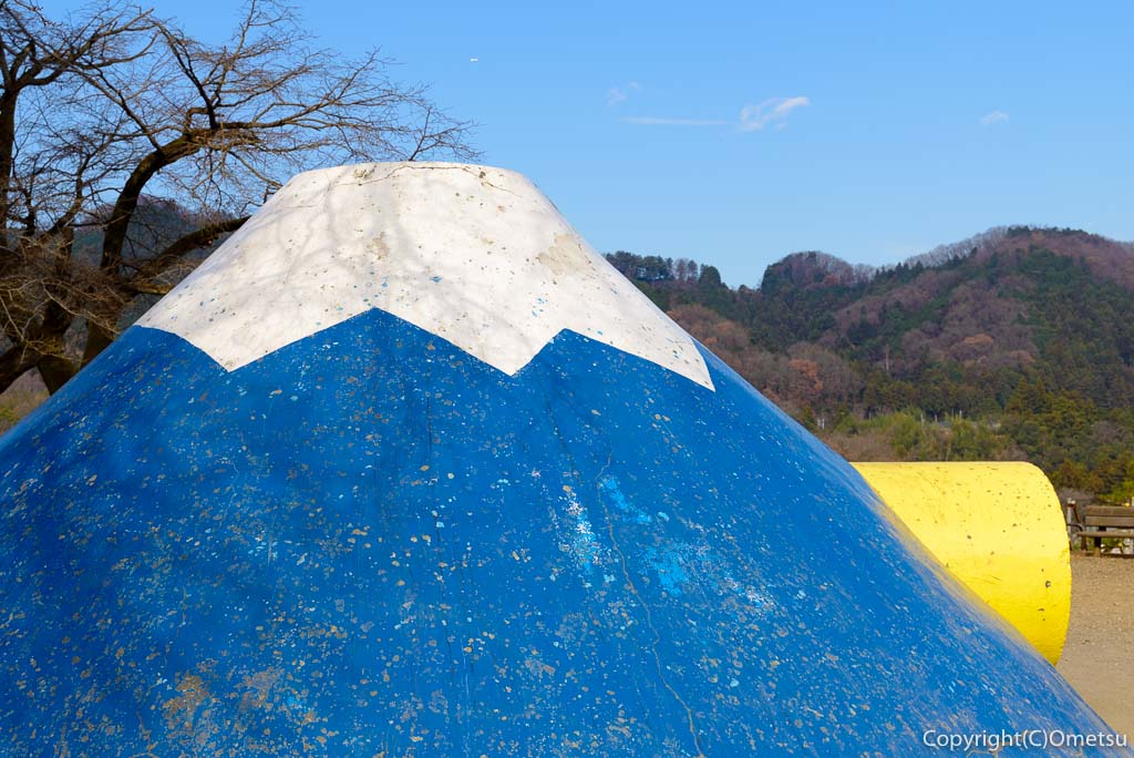 青梅市・畑中公園の富士山