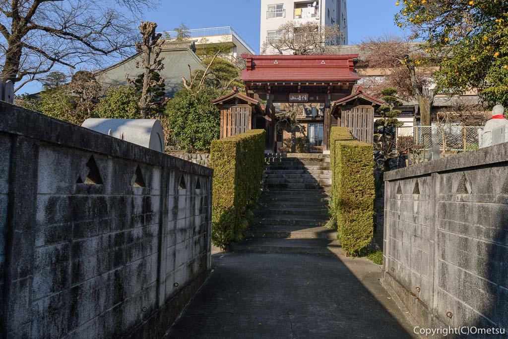 青梅市の、延命寺