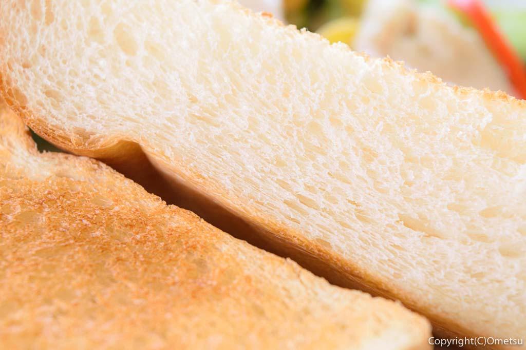 あきる野市の・東秋留の、Cafeキトコムギのランチプレートのパン