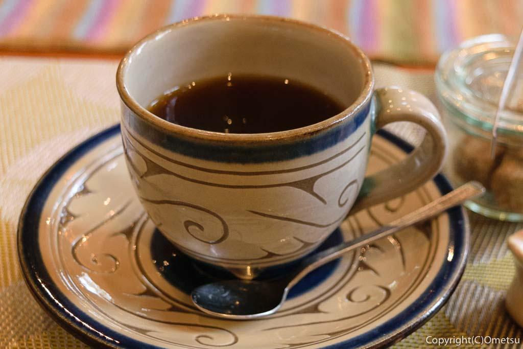 青梅市・河辺のカフェ チャーティーフォーの、コーヒー