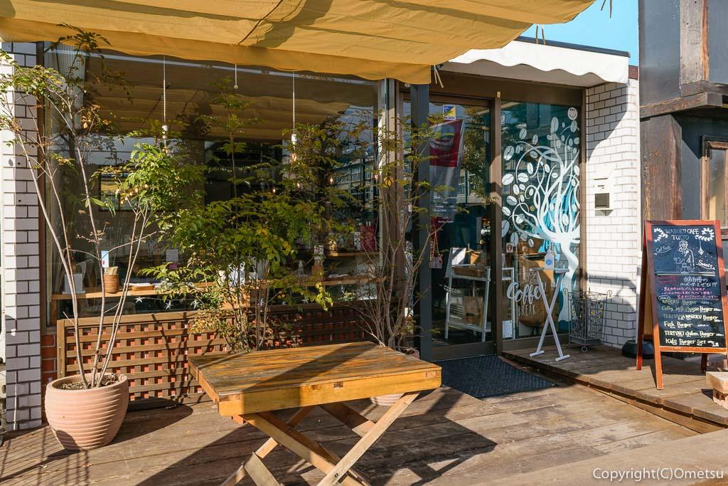羽村市・ワボクカフェ トーキョーのテラス