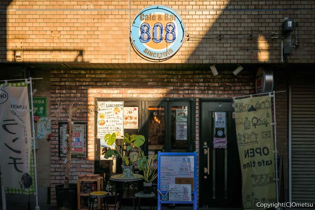 """羽村駅東口の""""Cafe&Bar 808"""""""