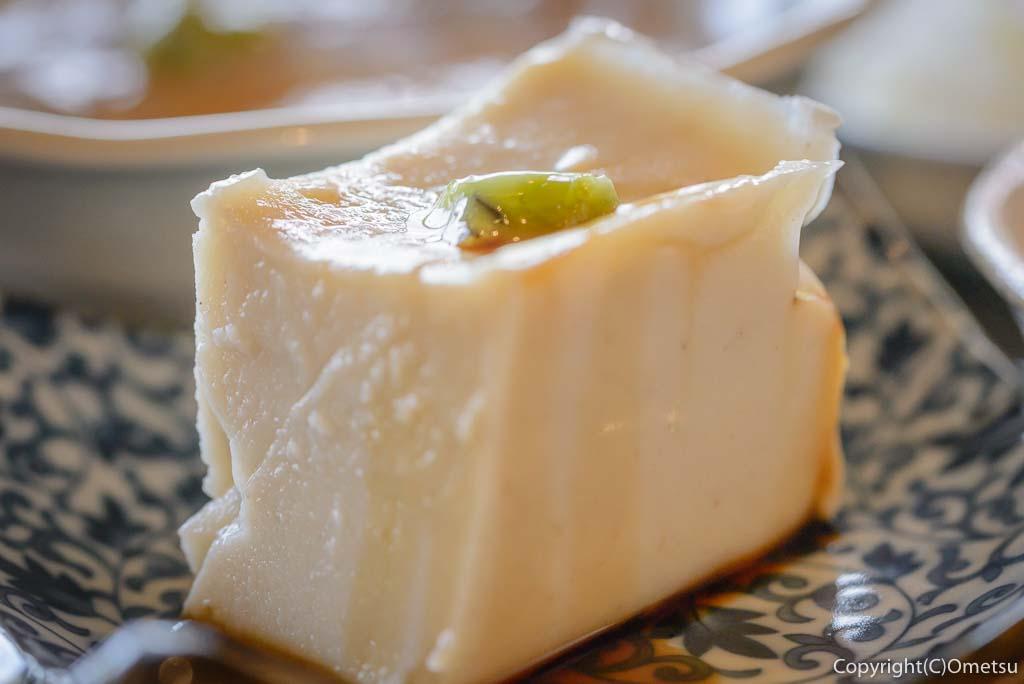 青梅・梅の内の、そば豆腐