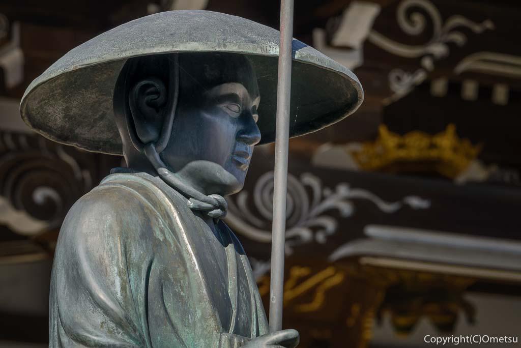 青梅市・即清寺の弘法大師像