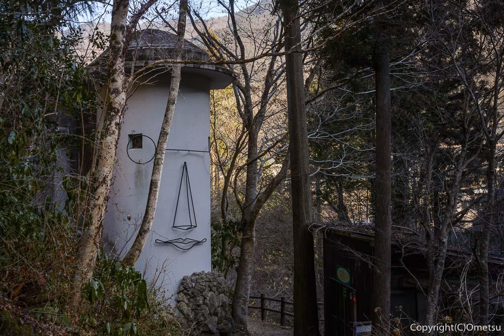 檜原村・払沢の滝近くの、ギャラリー喫茶やまびこ