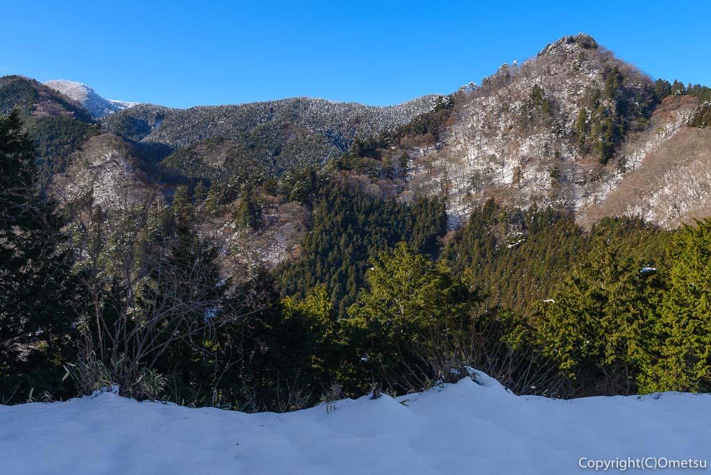 青梅市、冬の御岳山