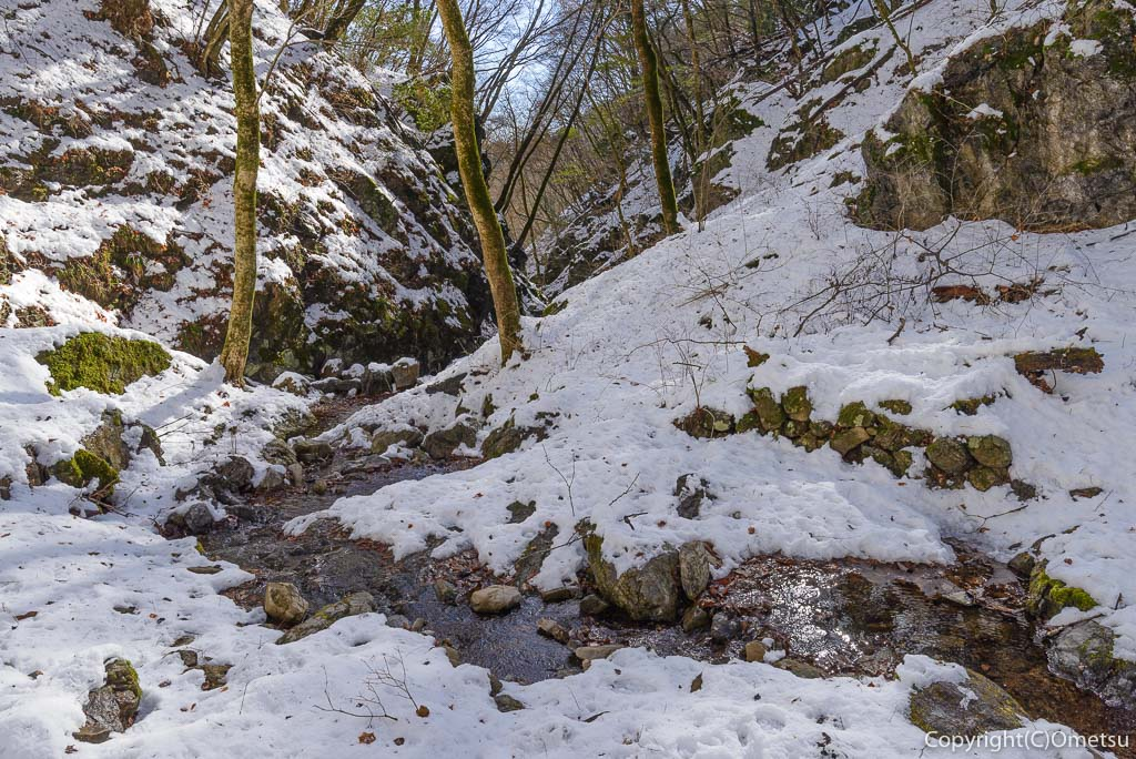 青梅市・御岳山ロックガーデンの冬