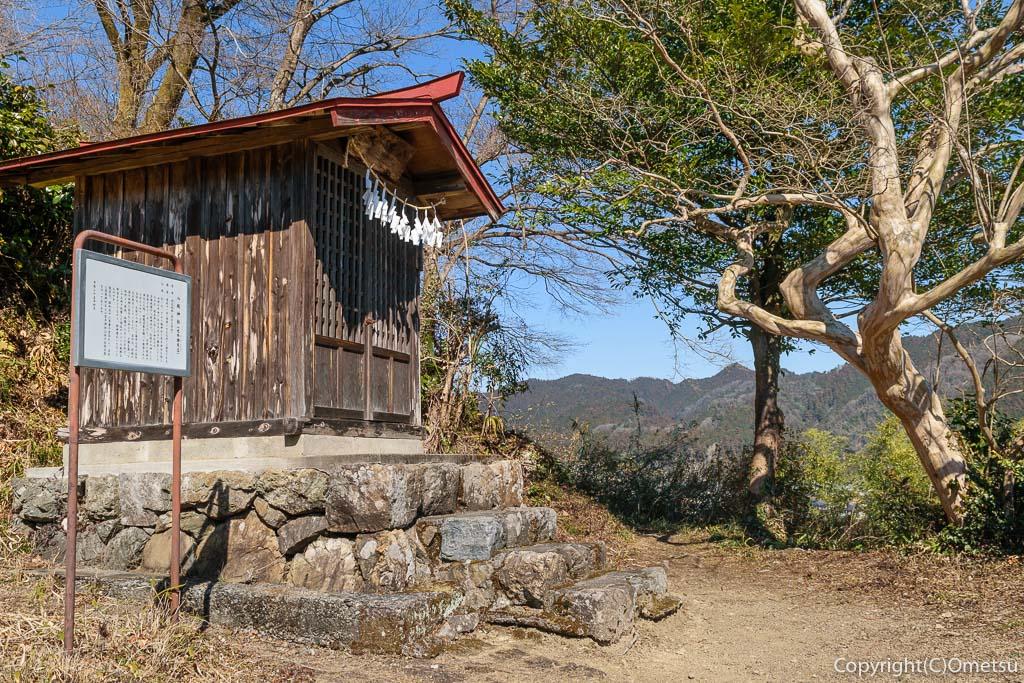 青梅市・梅郷の八坂神社