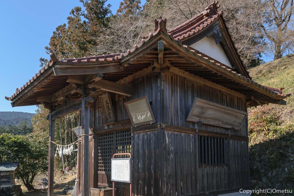 青梅市・梅郷の菅原神社