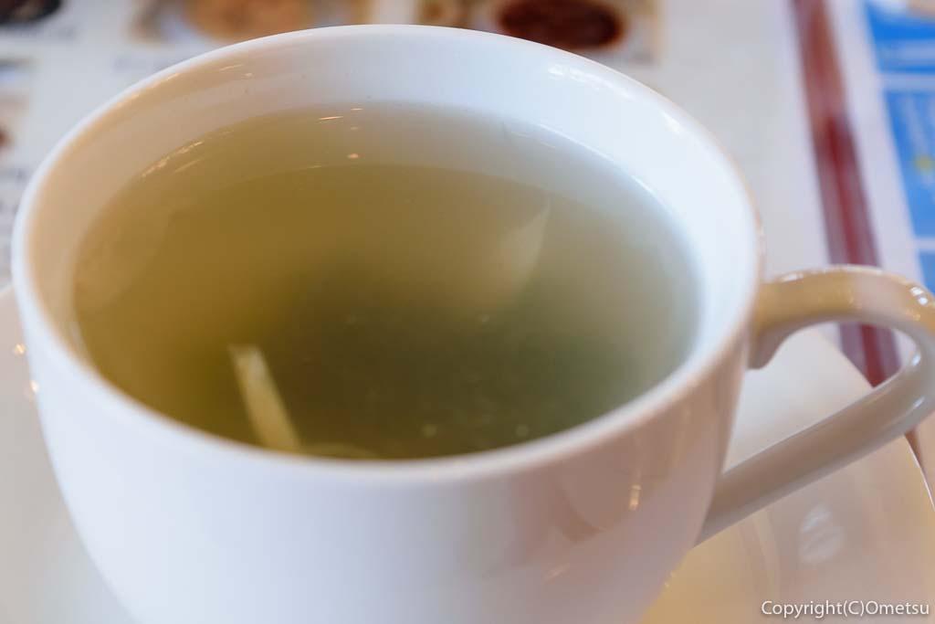 瑞穂町・耕心館の、喫茶ストーリアのワカメスープ