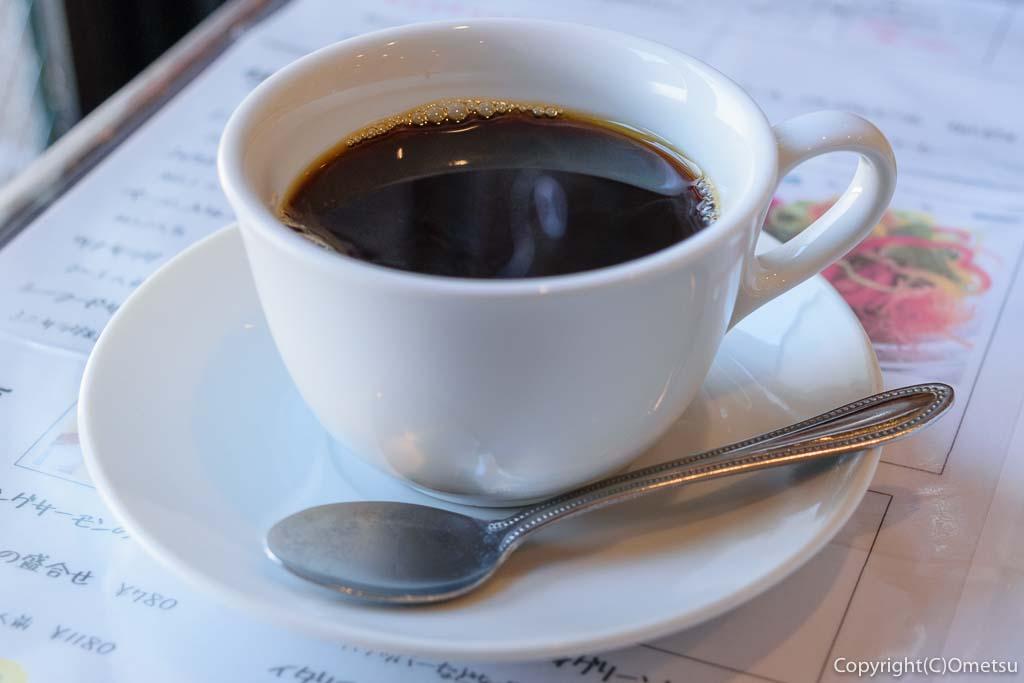 青梅市・新町のイタリアン、ピエモンテのコーヒー