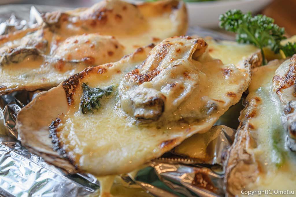 青梅市・新町のイタリアン、ピエモンテの冬季限定の牡蠣のグラタン