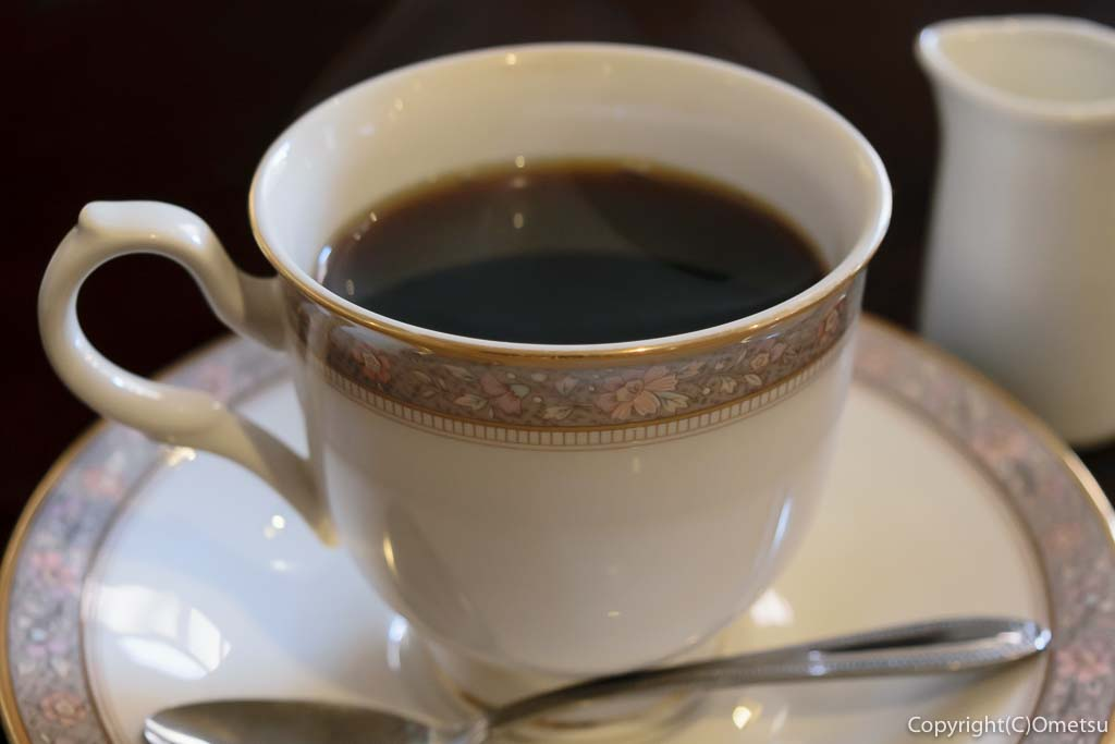 羽村の洋食料理店・LARGO(ラルゴ)のコーヒー