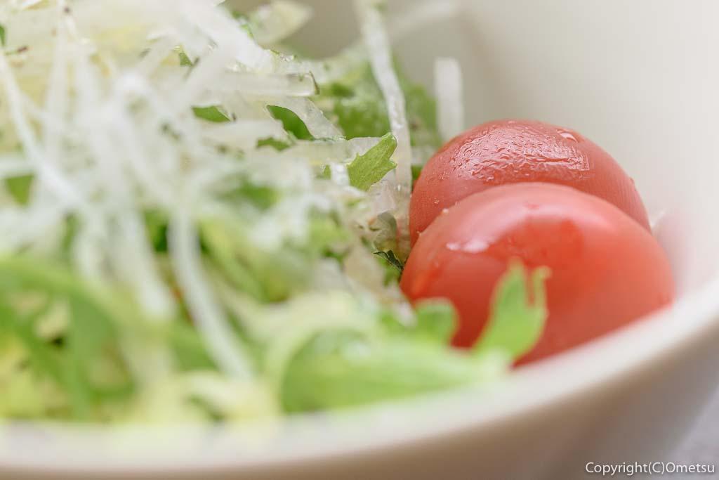 青梅市・御岳のステーキ店 NAMAの、サラダ