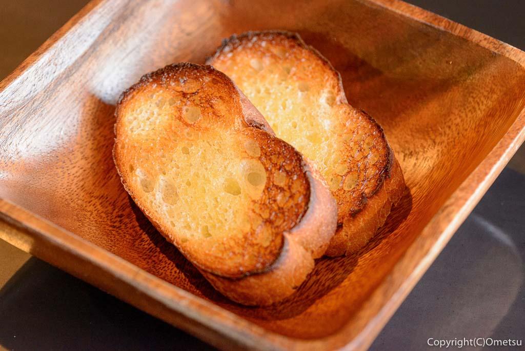 青梅市・梅郷のイタリアンレストラン・ヒバチヤのパン