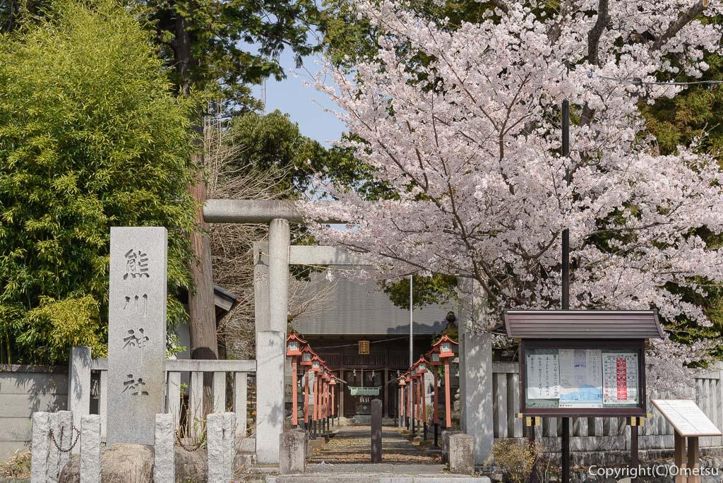福生市・熊川神社