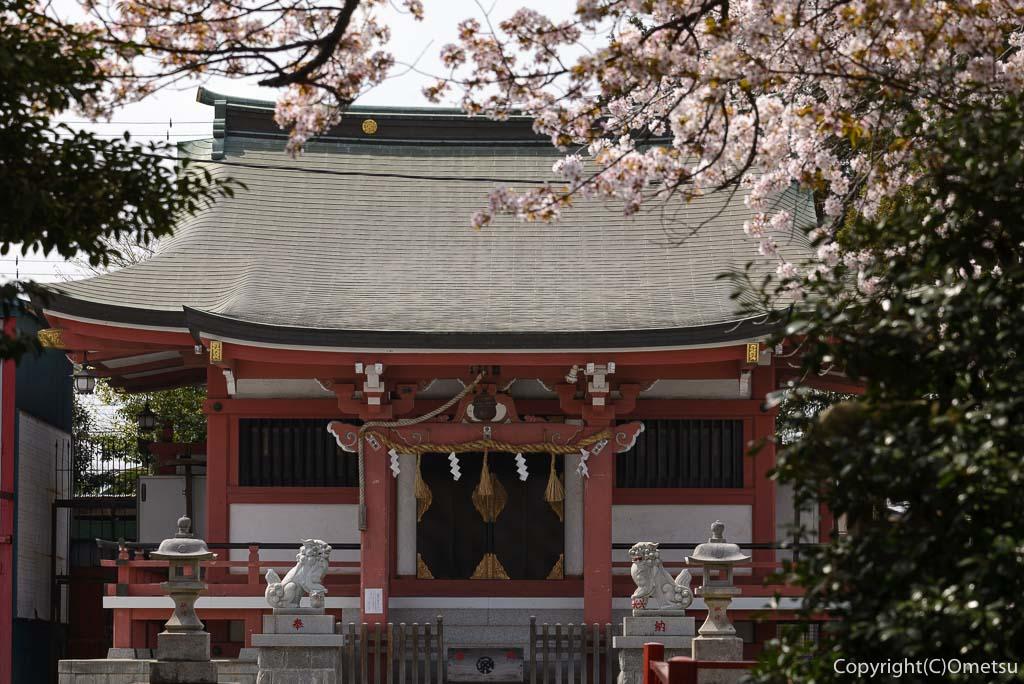 あきる野市・東秋留の南雲神社
