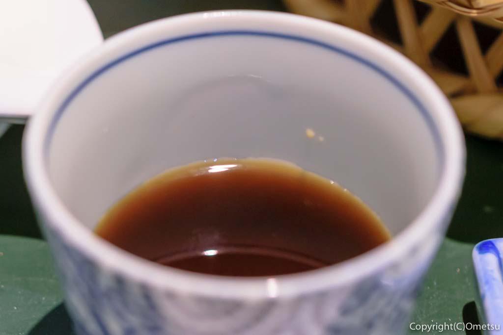 蕎麦ダイニング克の蕎麦汁