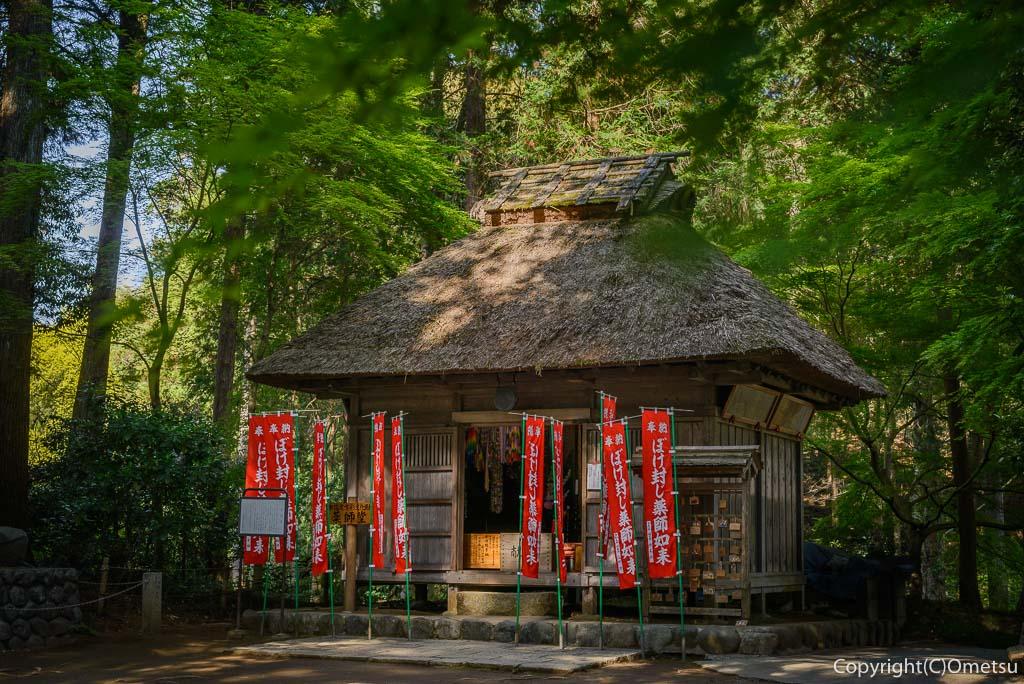 青梅・塩船観音寺の薬師堂