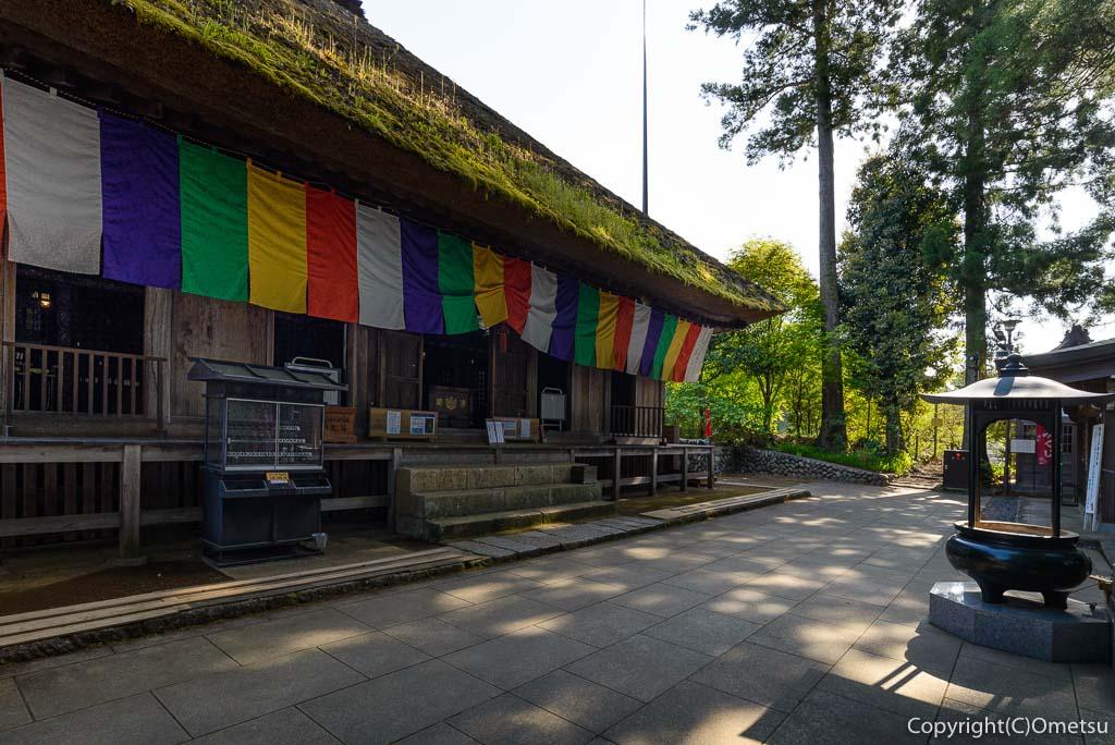 青梅・塩船観音寺の本堂
