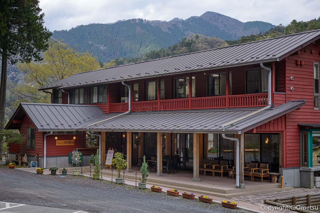 奥多摩町・海沢の東京多摩学園・カフェ&レストランSAKA