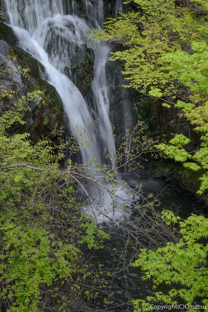奥多摩町・寸庭の清見滝