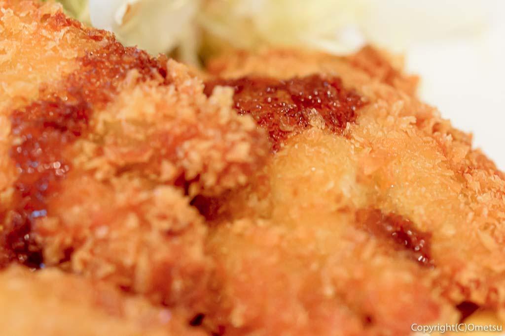 青梅市・河辺の「天ぷら・うなぎ 山中」のランチ・ワカサギのフライ定食