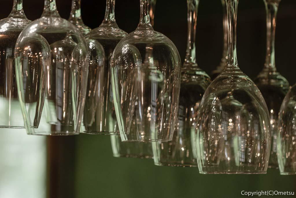 奥多摩町・氷川の、きよかわゲストハウスのグラス