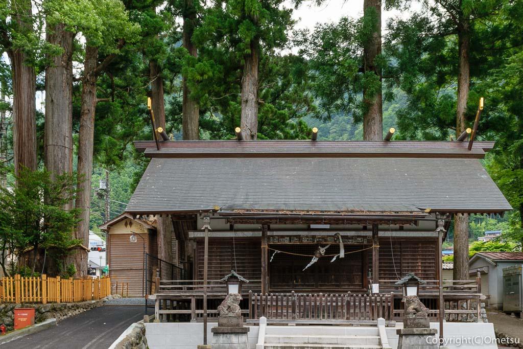 奥多摩町・氷川の、奥氷川神社