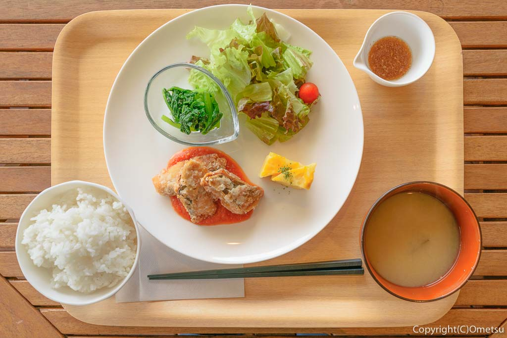羽村「みんなのカフェ メリ・メロ」の今日のランチ