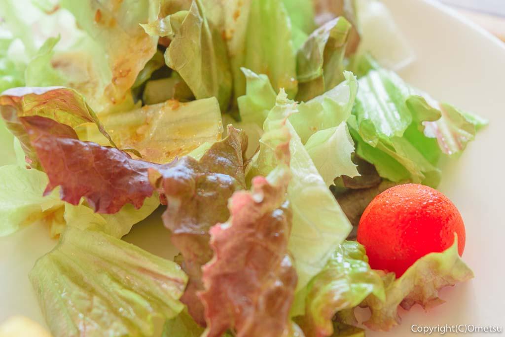 羽村「みんなのカフェ メリ・メロ」の今日のランチの、サラダ
