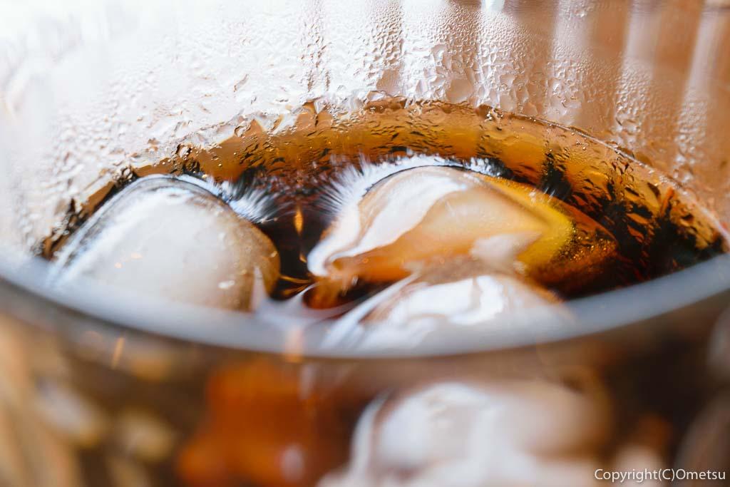 羽村「みんなのカフェ メリ・メロ」のアイスコーヒー