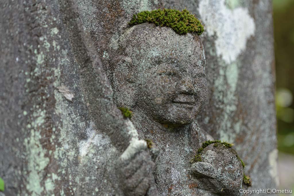 青梅市・即清寺の山内新四国八十八ヵ所・霊場の19番礼所の石仏