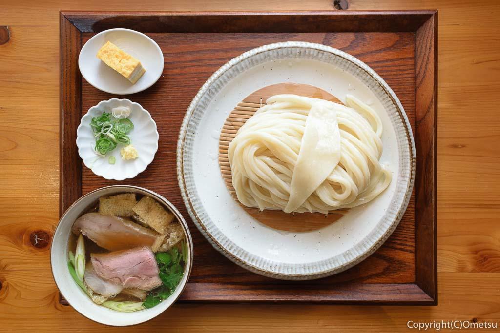 羽村市「手打ちうどん さかもと」の肉汁うどん